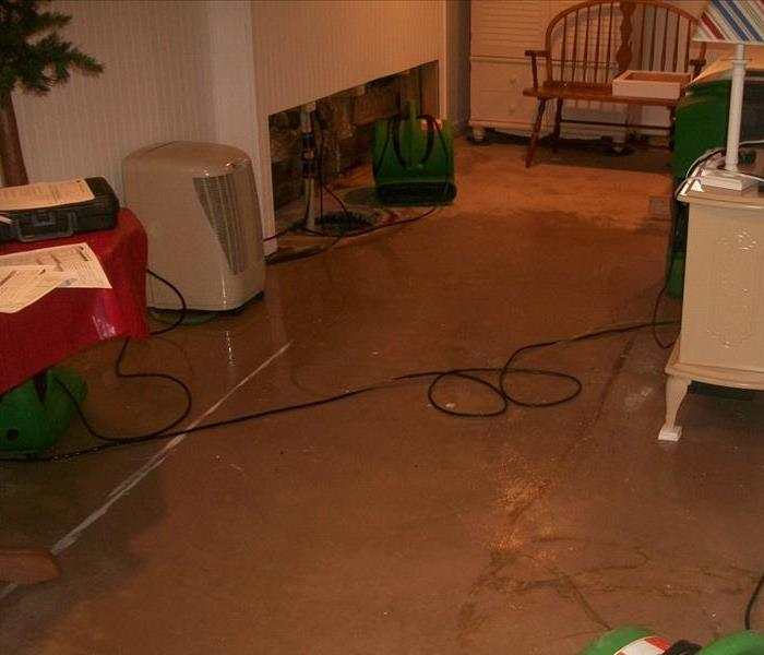 Holiday Time Water Damages Before